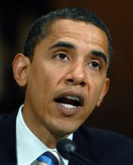 Sen. Barack Obama, Democrat of Illinois