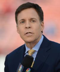 Bob Costas says he'd be against his son playing football