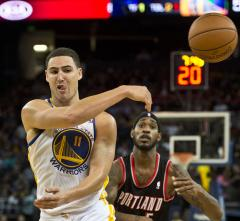 Golden State makes comeback win against Portland