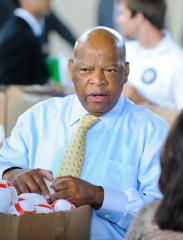 Rep. Lewis: Black people support Obama