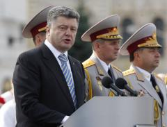 Ukrainian President Poroshenko advises citizens not to panic