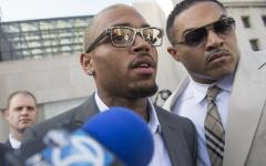 Chris Brown pleads guilty to fan assault in D.C.