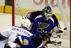 NHL: St. Louis 2, Los Angeles 0