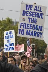 Calif. won't appeal Prop 8 ruling
