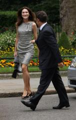 Carla Bruni dodges pregnancy questions