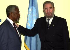 Castro tells Cubans he's stepping down