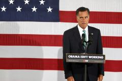 Romney disputes 'silver spoon' comment