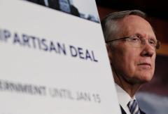 Senate Dem leader Reid sees no 'grand bargain' at budget talks