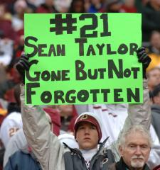 Man convicted of killing football star Sean Taylor gets 57.5 years in prison