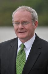 Martin McGuinness seeks Irish presidency