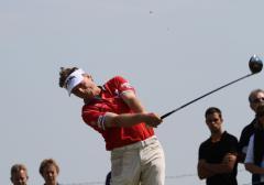 Langer in front at Senior British Open