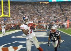 NFL: N.Y. Giants 17, New England 14