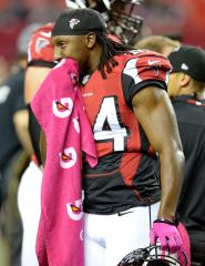 Falcons wide receiver arrested for failure to appear on a warrant