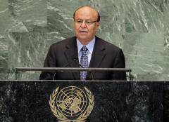 Yemen committed to peace, its president says