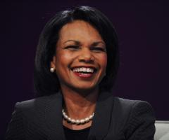 Rice: Obama election 'extraordinary step'