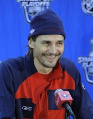 NHL great Sergei Federov heading to Russia