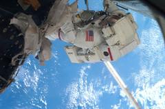 Space station dodges super-fast debris