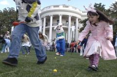 Egg hunt tossed because of violent adults