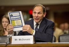 McDonald promises systematic change at VA confirmation hearing