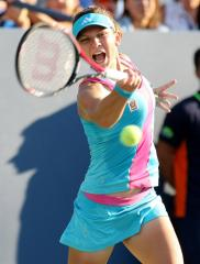 Halep knocks out top seed in Morocco