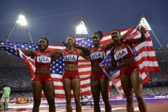 Olympic Roundup: USA nears medal supremacy