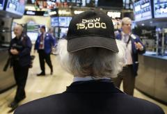 Dow Jones industrial average at record close Tuesday