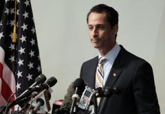 Weiner brushes off talk of campaigning now
