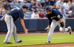 Brewers come up over Rangers in spring training