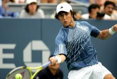 Monaco wins opener in French tennis