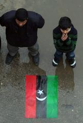 Libyan rebel flag raised at United Nations