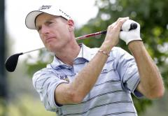 Scott tied Furyk for PGA Championship lead