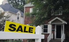 Existing home sales rise to eight-month high