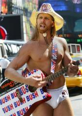 'Naked Cowboy' considers White House bid