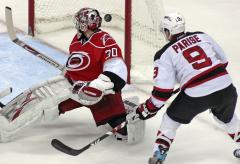 NHL: Carolina 4, New Jersey 2