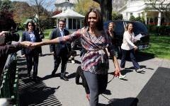 Michelle Obama says 'No' to GOP school lunch plan