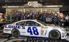 Jimmie Johnson completes Daytona sweep with Coke Zero 400 win