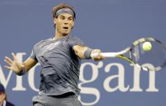 Nadal reaches third round at U.S. Open
