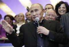 Putin officially declared election winner