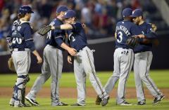 Milwaukee shuts out San Diego