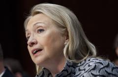 Clinton: U.S., Israel on same page re Iran