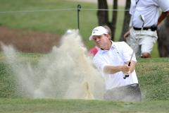 Micheel in front at Spanish Open