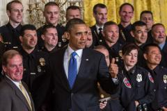 Obama honors more than 40 of United States' 'Top Cops'