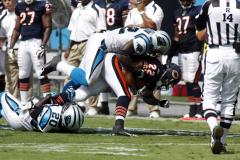 NFL: Carolina 20, Chicago 17