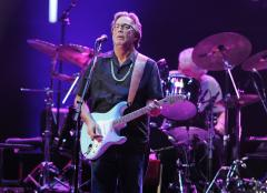 Eric Clapton, Chris Martin set for Sandy relief concert in N.Y.