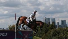 Germany dominates equestrian finals