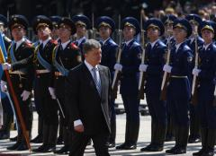 Ukrainian President Poroshenko vows 'We will attack and we will liberate our land'