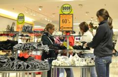 Retail sales slid in March