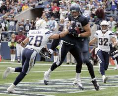 NFL: Seattle 27, San Diego 20