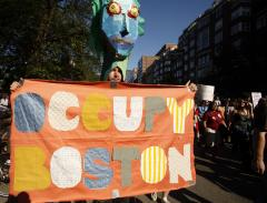 Occupy arrests in Boston, Washington