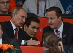 Kremlin: Putin and British PM agree Ukraine crisis only solvable through 'peaceful means'